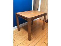 Solid Oak High Dining / Breakfast Table