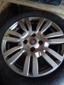 Fiat Punto alloys & tyres