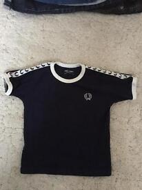 Fred perry boys 2-3 years t-shirt