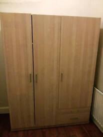 Large ikea type wardrobe