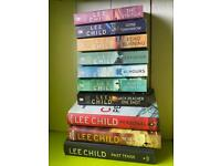 Collection of Lee Child books