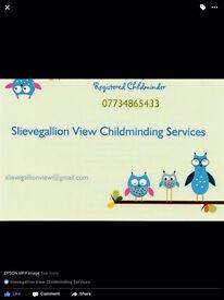 Registered Childminder available in Draperstown/Desertmartin area