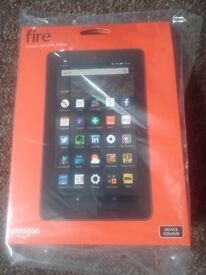 Amazon fire tablet 8gb new and sealed