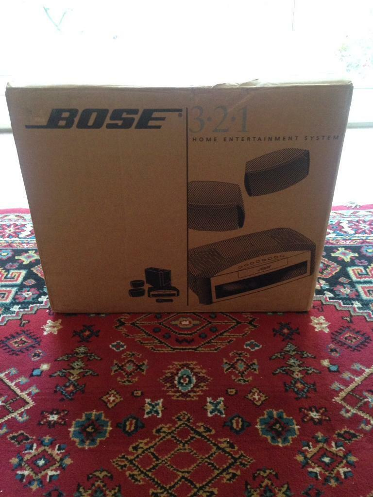 BOSE 321 GS HOME ENTERTAINMENT SYSTEM