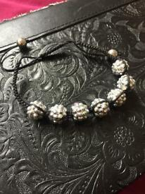 Shambala bracelet - silver