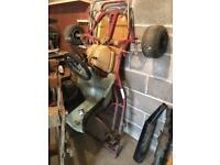 CAT go kart chassis with engine