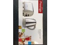 BRAND NEW - Toaster and Kettle, Prestige Breakfast Set