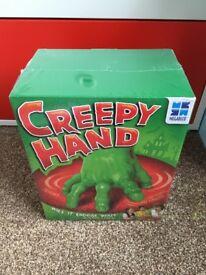 Brand new creepy hand