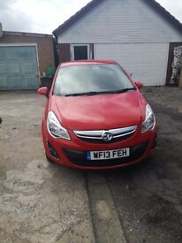 Vauxhall Corsa 1.2l 2013 owned from new