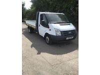2009 59 ford transit 115 t350 2.4 tdci 6spped 12ft drop side pickup