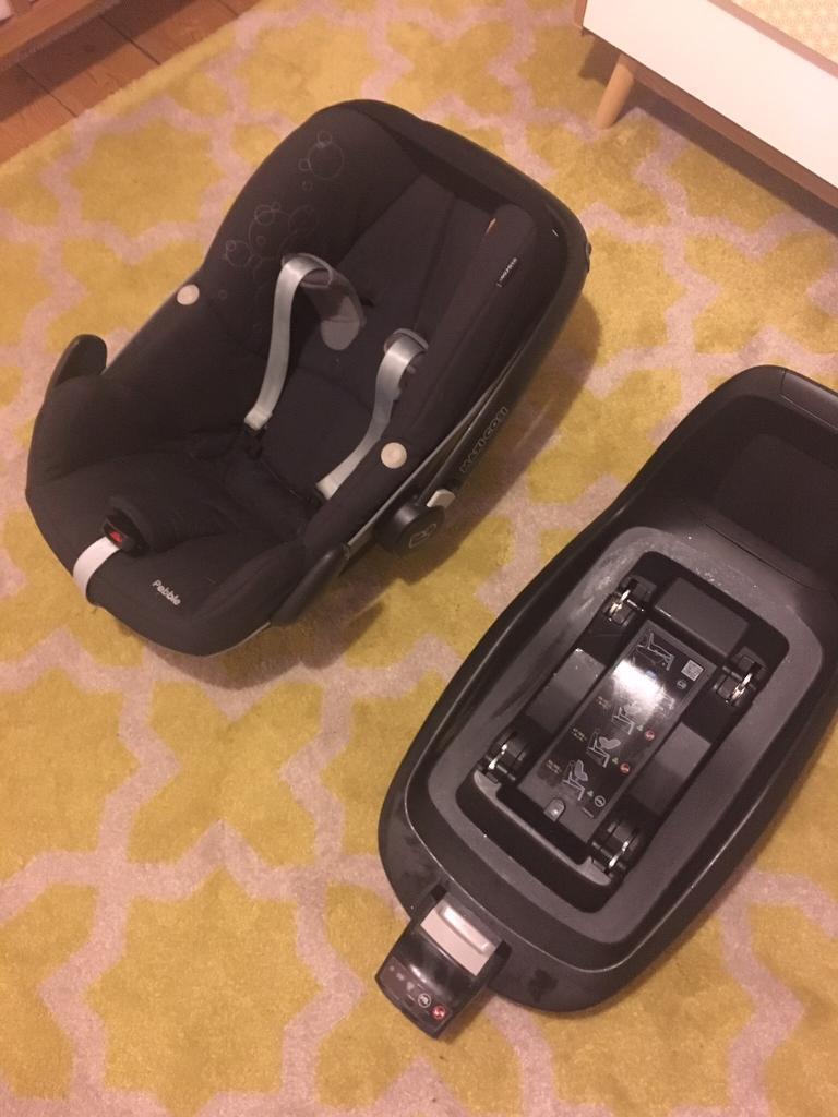 Maxi cosi 2wayfix base and stage 1 car seat