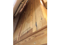 Solid Pine Wardrobe - Good used Condition - MASSIVELY REDUCED