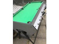 bar football,pool & hockey table
