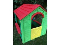 Great sturdy plastic kids playhouse