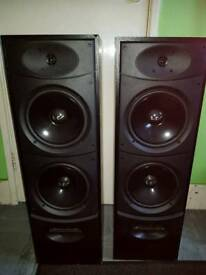 Wharfdale speakers no wires