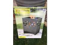 Steel Fire Basket Fire Pit Firepit Wood Burner Patio Heater - Ottawa