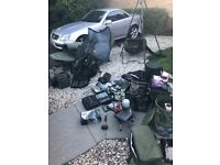 Carp set up shimano xta longcast matrix avid fox Nash Korda Sonik sks
