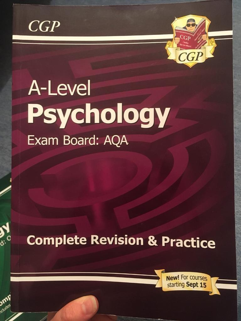A Level Psychology AQA and Biology OCR Revision Guides
