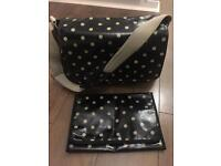 Cath Kidston dotty baby changing bag