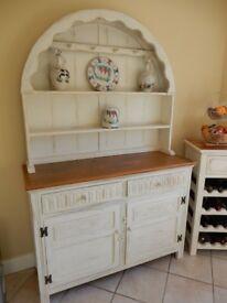 Shabby Chic Solid Oak Dresser