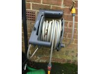 Hozelock Hose reel with extra hose