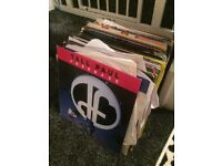 100 x house/dance record collection