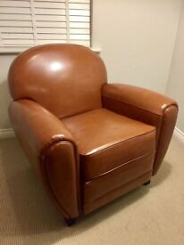 Made JAZZ Club Chair in Cognac RRP £299