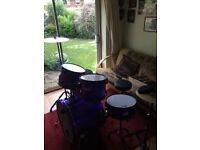 Acoustic drum kit in good condition