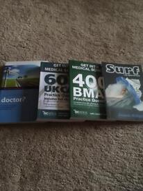 Medical school application books