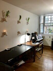 huge double bedroom/studio 820£pcm
