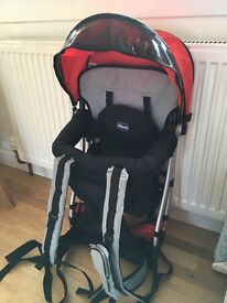 Chicco baby back pack suitable for 6mth-3 years excellent condition.