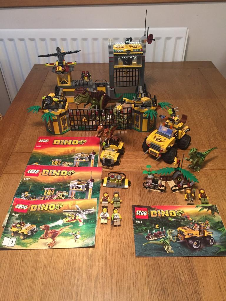 All Lego Toys : Retired lego dino sets all mini figures dinosaurs