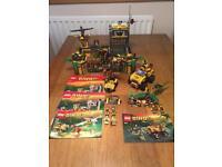 Retired Lego Dino sets all mini figures. Dinosaurs & bricks complete