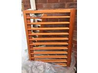 Wooden Bed Cot with newer Mothercare Matress