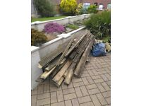 Used Decking and Joists