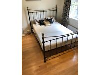 Double Bed Metal Bed Frame