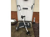 Dunlop Sport Golf Trolley, two wheel light weight, fold away aluminium frame, with very little use