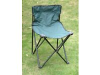 Folding Fishing / Camping Chair + Easy carry bag with shoulder strap.
