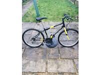 Rare Apollo Outrider mountain bike *flat tyres needs pumping*