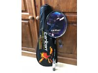 Carlton Airblade 550 badminton rackets. Specialists at speed. It was £52. Now £28. Brand new.