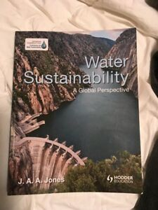 Water Sustainability Text