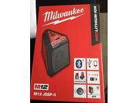 Milwaukee Bluetooth Speaker