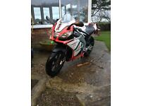 Aprilia rs4 125 2011 plate big price drop