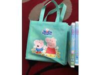 Peppa Pig book and DVD bundle