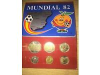 Mundial 82' complete coin set