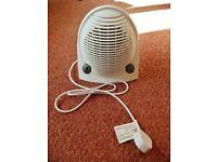 White RS Pro FH-502 1700-2000W Upright Floor Fan Heater Adjustable Thermostat & Summer Service Fan