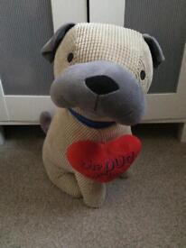 Large pug teddy