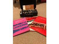 Yamaha 250 clarinet & music