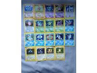 Original 1st generation holo Pokemon cards