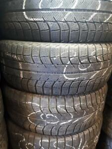 205/55/16 Used Michelin winter tires
